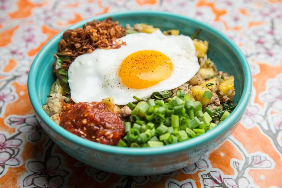09/25/2017 BOSTON, MA Nasi goreng at Myers + Chang in Boston. (Aram Boghosian for The Boston Globe)